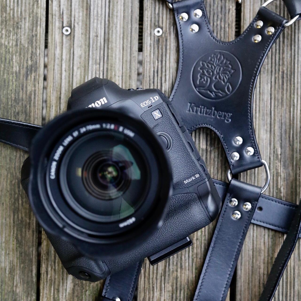 Canon EOS 1Dx III with the Krützberg Camera Harness System